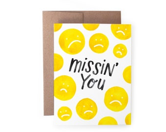 Missin' You Card