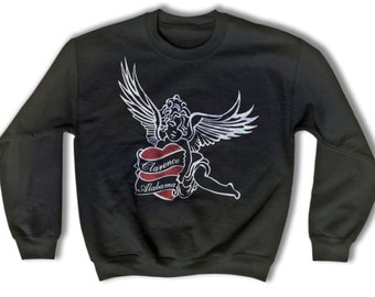 Clarence and Alabama Tattoo Sweatshirt for Men and Women