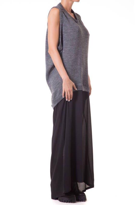 dress Loose dress Party dress dress dress Maxi Knit long Extravagant PqXx4E