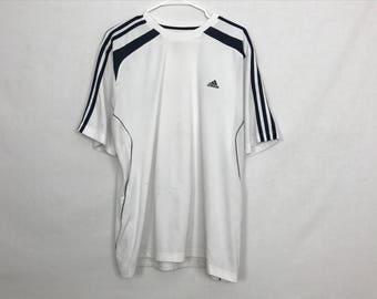White adidas t-shirt size L