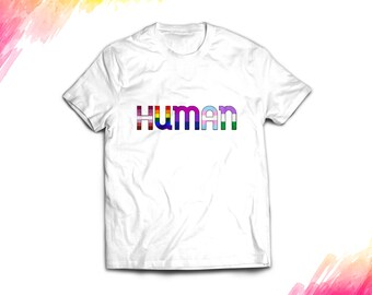 LGBTQ HUMAN Shirt, Men T-Shirt, Gay Pride T Shirt, Pride Shirt Women, Resist March, Pride March, Resist March, LGBT Shirt, Pride Shirt #0646