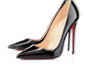 Designer Style Christian Louboutin So Kate High Heel Shoes Wallart Art Print Picture