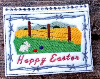 Embroidery Greeting Cards by DiElobi – Easter #4