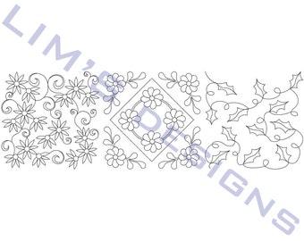 "Three Quilt Patterns N15 machine embroidery designs - 3 sizes 4x4"", 5x5"", 6x6"""