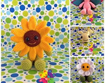 Garden Friends PDF Crochet Pattern Pack