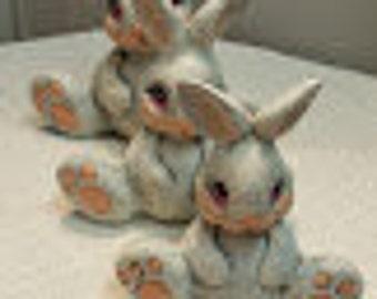 Set of 3 Bunnies