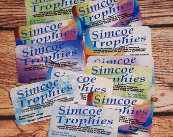 Aluminum buisness cards, branding, unique cards, unique buisness cards, 40 cards, personalized