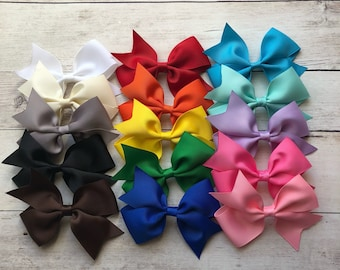 Hair Bow / Big Hair Bow / Toddler Bow / Baby Bow / Baby Headband / Bow for Girls / Large Hair Bow / Bow for Toddler / Bow for Baby