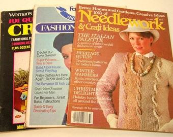 Needlework And Craft Magazines