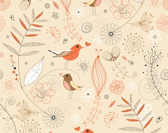 "Fabric by the Yard ""Gwendolyn"" Home Decor Fabric"