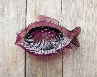 Purple Fish Dish