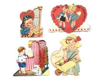 Vintage Valentines Victorian Paper Ephemera