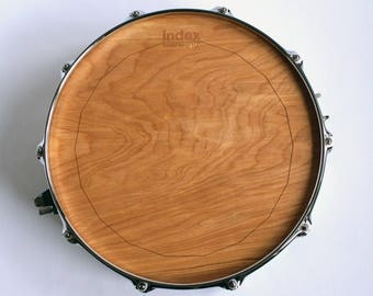 "14"" Forest King 100 Wooden Drumhead by Index Drums"
