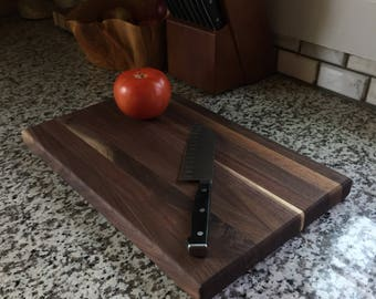 Black Walnut Reversible Edge Grain Cutting Board