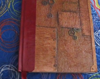 Steampunk sketchbook, perfect for watercolor