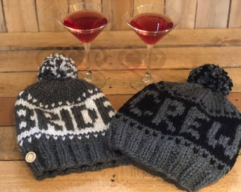 Knit Crew Hat - will you be my bridsmaid?