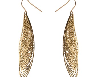 Lacewing Earrings | Corollaria collection
