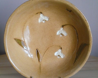 Snowdrop bowl