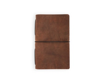 Moleskine Cahier Leather Journal - Copper