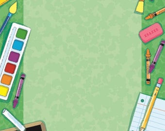 "School Design Paper, 8.5""x11"", 100/PK"