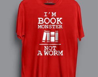 I Am Book Monster T-shirt