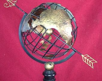 Armillary sphere globe