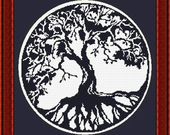 Blackwork Tree of Life