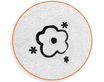 Impress Art 6mm Flower Texture Stamp Design Stamp  Decorative Stamp