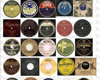 Bright image with regard to printable record labels