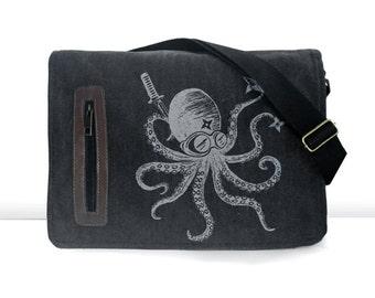 Ninja Octopus messenger bag