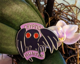 Cryptid Hunter Pin
