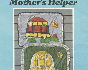 """Vintage Yours Truly Patchwork Pattern """"Turtle Mother's Helper"""" Pattern"""