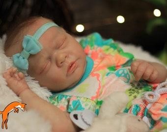 Realborn Ana Asleep Completed Reborn Doll