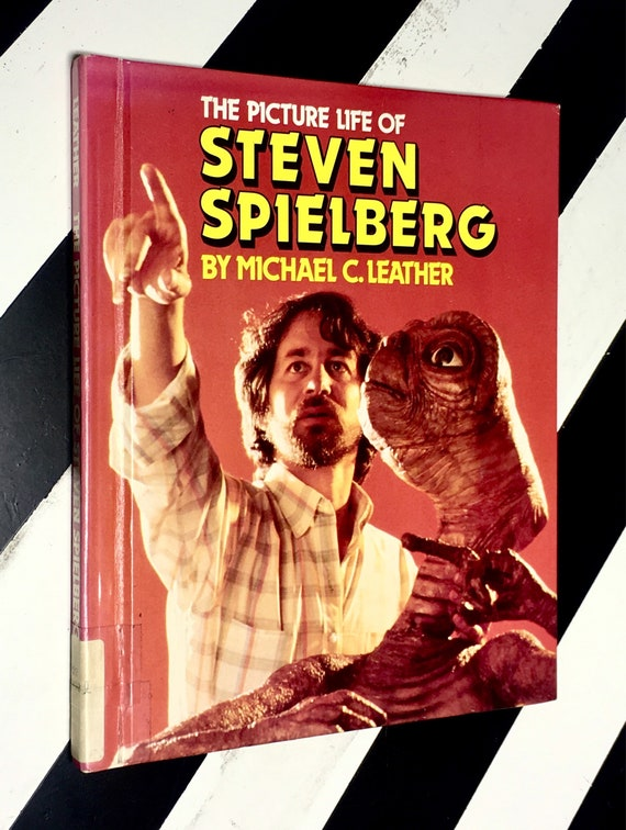 The Picture Life of Steven Spielberg by Michael C. Leather (1988) hardcover book