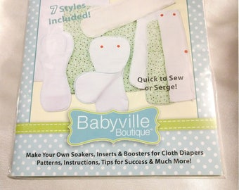 Babyville Simply Soakers pattern book