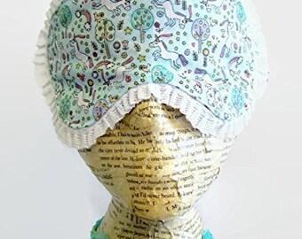Unicorn Doodles Sleep Mask, Spa Mask, Eye Sleep Mask, Travel Mask, Insomnia, Spring Time