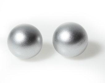 Matt Silver Chime Ball for Mexican Angel Caller