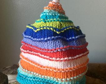 The Jack & Jill- Baby Striped Hat