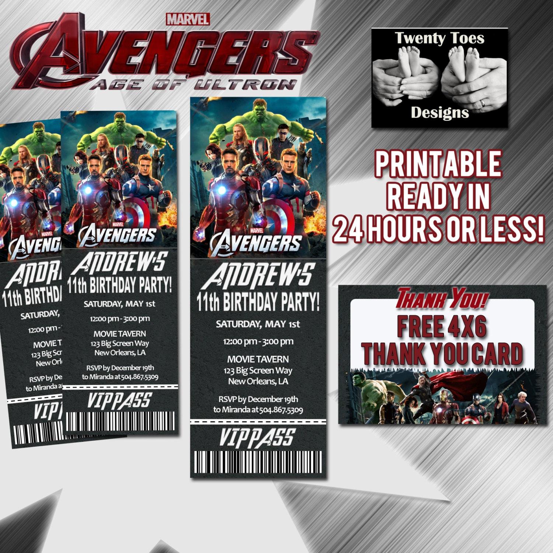 🔎zoom  Movie Ticket Invitations Printable Free