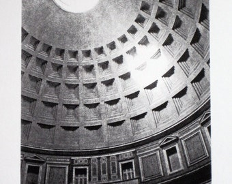 1 : Rome - Pantheon - limited edition screenprint