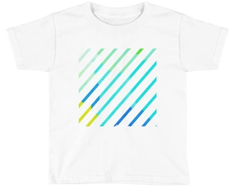 Graphic Lines Kids Short Sleeve T-Shirt