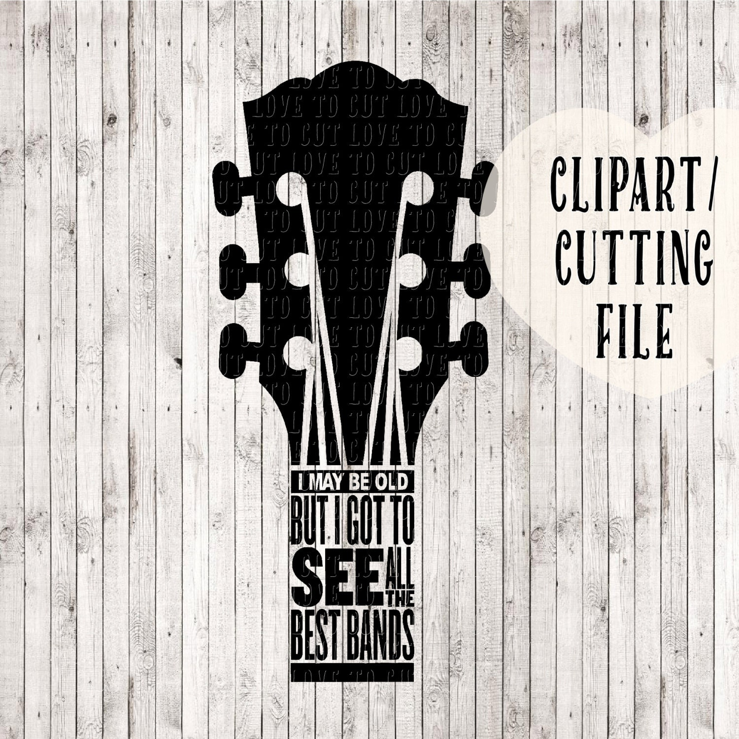 I May Be Old But Svg Music Svg Guitar Svg Quote Svg