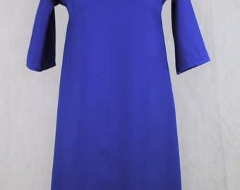 Vintage Blue shift dress, vintage clothing, vintage dress, vintage dresses, dress, dresses, dresses for women, women's clothing, clothing