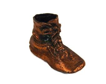Vintage Baby Shoe - Nursery Decor, Shabby Chic Decor, Powder Room Decor, Cabin Decor