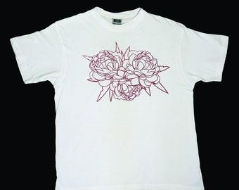 T-shirt - Blossoming Peonies
