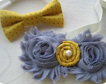 Custom listing for two flower girl headbands