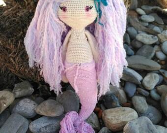 Amigurumi mermaid, children's gift, crocheted mermaid, amigurumi, crochet