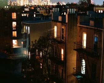 Rear Window, Fine Art Film Photography, Landscape, New York City