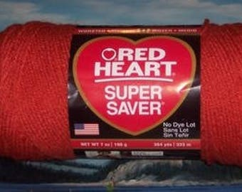 3000726 Red Heart Super Saver 7 oz Coral
