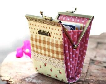 Business card holder / Credit card case / Credit card organizer / Fold card case